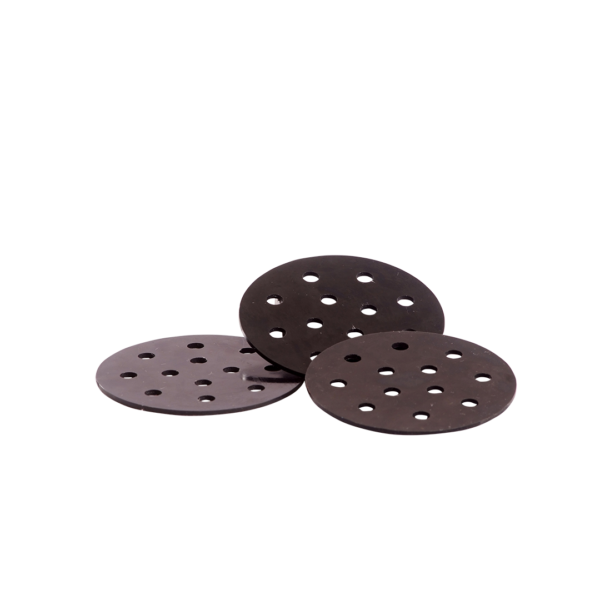 Black Round Pad - CRW Style -Consolidated Rig Works Style
