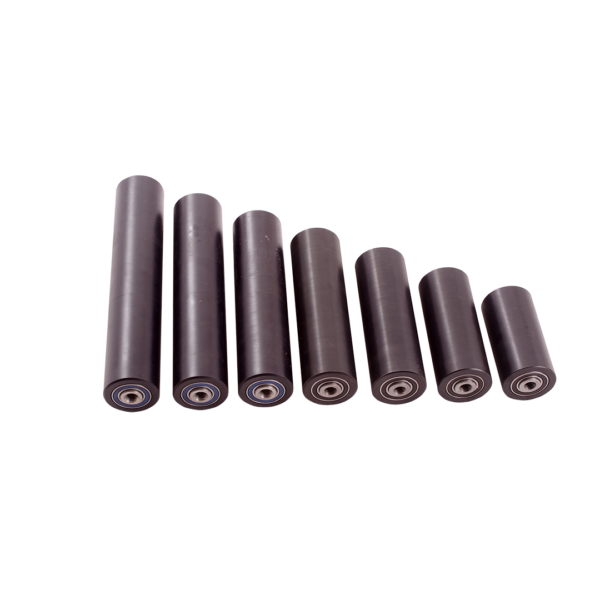 Goose Neck Rollers Flared End