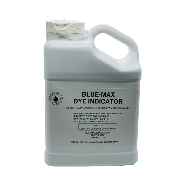 Blue Max Dye Indicator - McClain Oil Tools